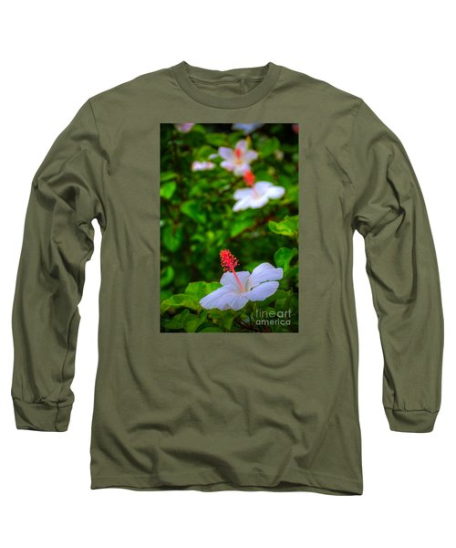 Long Sleeve T-Shirt featuring the photograph Maui Hibiscus by Kelly Wade