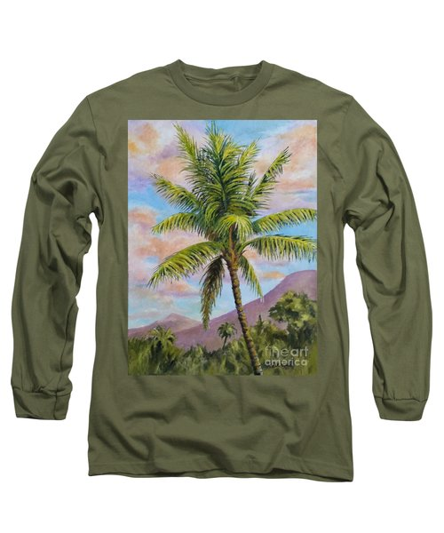 Maui Palm Long Sleeve T-Shirt by William Reed