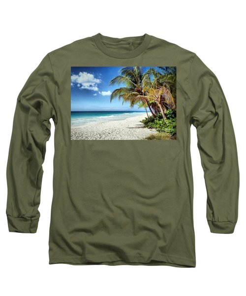 Maxwell Beach Barbados Long Sleeve T-Shirt
