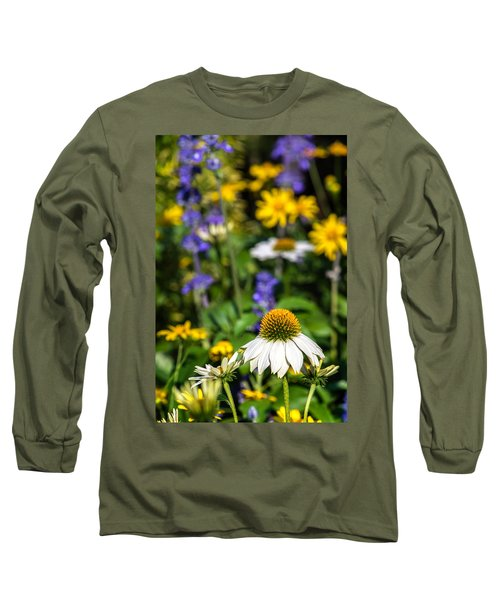 Long Sleeve T-Shirt featuring the photograph May Flowers by Steven Sparks