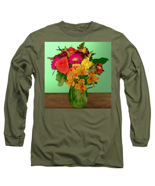 May Flowers Long Sleeve T-Shirt