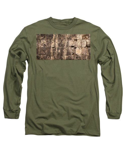 Mayan Hieroglyphics Long Sleeve T-Shirt