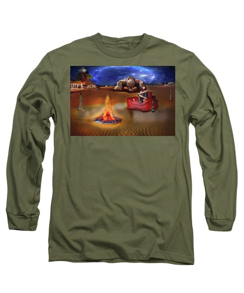 Mazzy Stars Long Sleeve T-Shirt by Michael Cleere