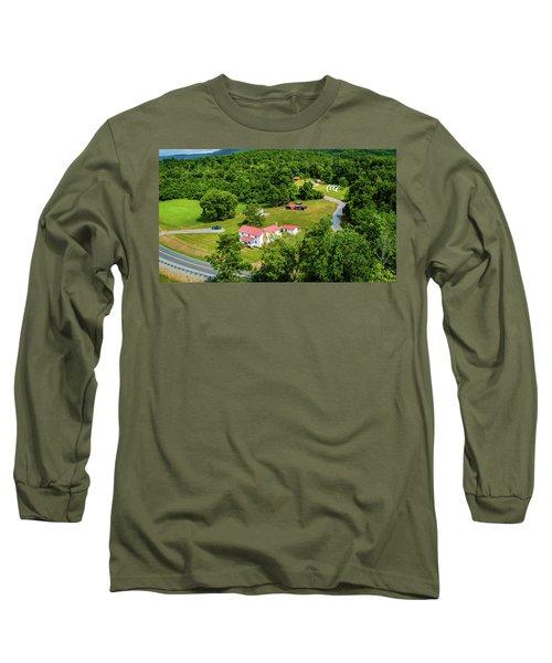 Mcghee Aerial 0068 Long Sleeve T-Shirt