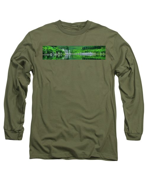 Mcguire Reservoir P Long Sleeve T-Shirt by Jerry Sodorff