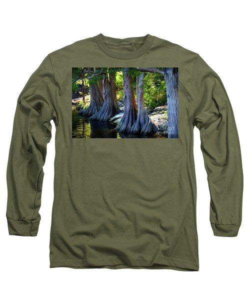 Mckinney Falls State Park - Texas 12118-2 Long Sleeve T-Shirt
