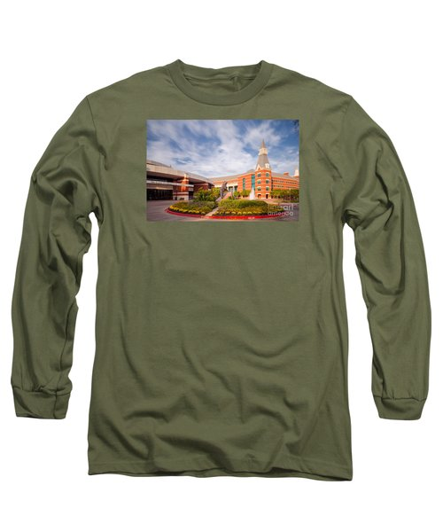 Mclane Student Life Center And Sciences Building - Baylor University - Waco Texas Long Sleeve T-Shirt