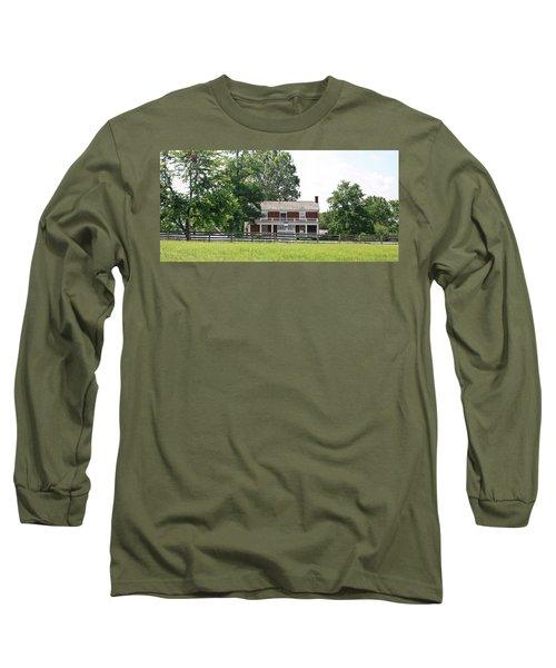 Mclean House Appomattox Court House Virginia Long Sleeve T-Shirt