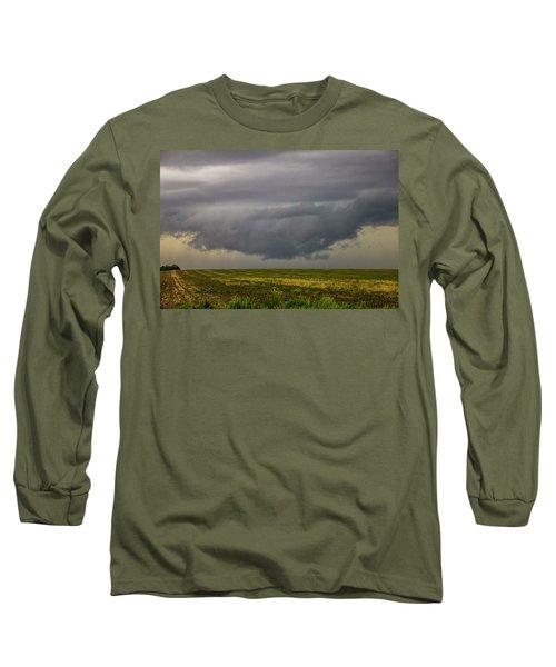 Mcluvn Nebraska Thunderstorms 018 Long Sleeve T-Shirt
