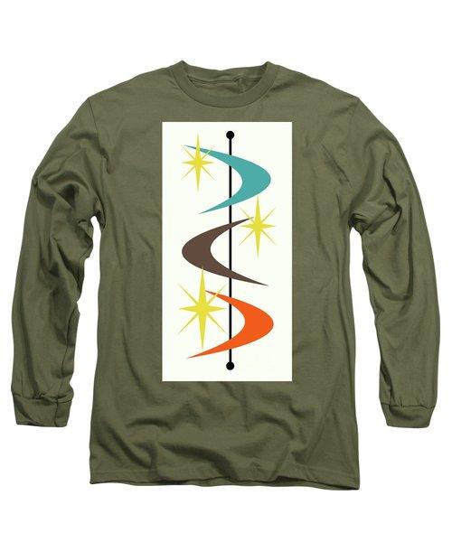 Mcm Shapes 2 Long Sleeve T-Shirt