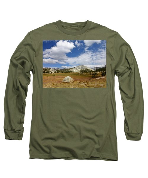 John Muir Trail High Sierra Camp Meadow Long Sleeve T-Shirt