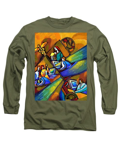 Medicare And Information Technology Long Sleeve T-Shirt