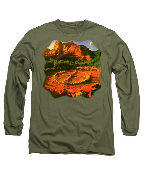 Medicine Wheel Long Sleeve T-Shirt
