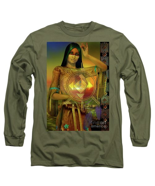 Medicine Woman Long Sleeve T-Shirt
