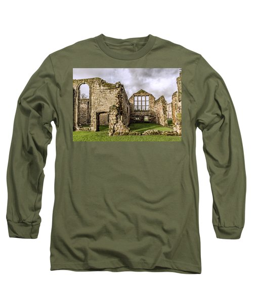 Long Sleeve T-Shirt featuring the photograph Medieval Ruins by Nick Bywater