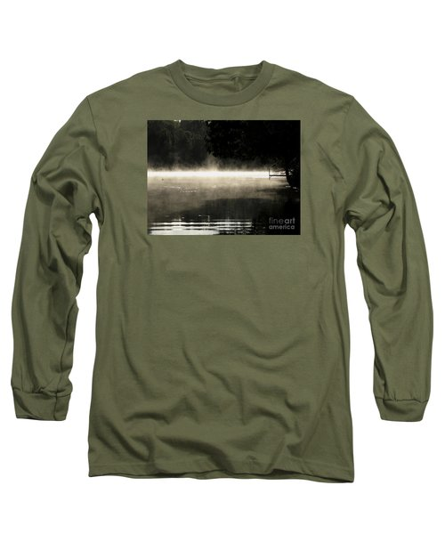 Long Sleeve T-Shirt featuring the photograph Meditation Morning by France Laliberte
