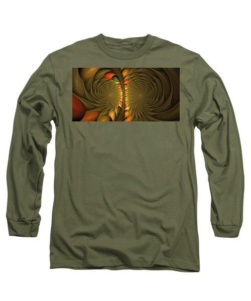 Meditirina Seed Pod Long Sleeve T-Shirt