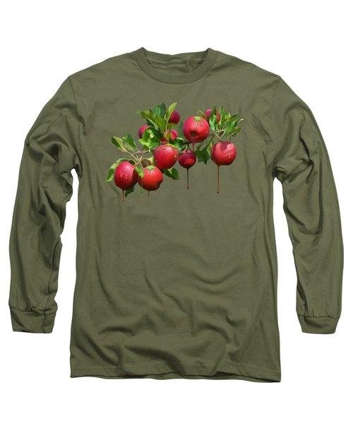 Melting Apples Long Sleeve T-Shirt by Ivana Westin