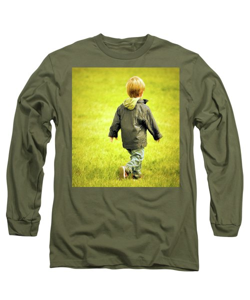 Long Sleeve T-Shirt featuring the photograph Memories... by Barbara Dudley