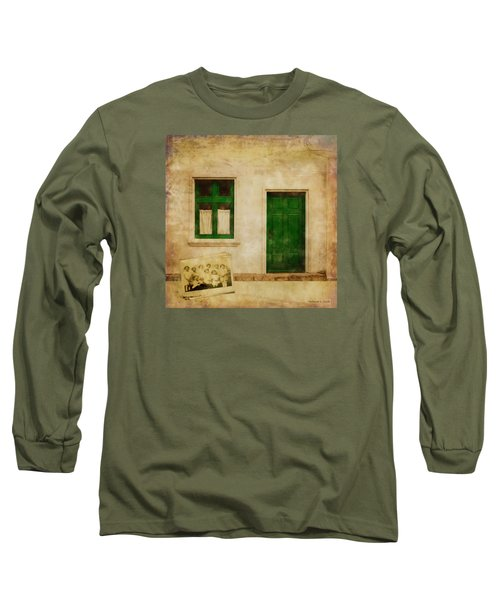 Long Sleeve T-Shirt featuring the painting Memories Of Irish Green by Bellesouth Studio