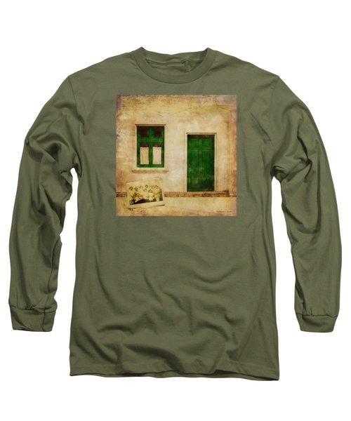 Memories Of Irish Green Long Sleeve T-Shirt by Bellesouth Studio