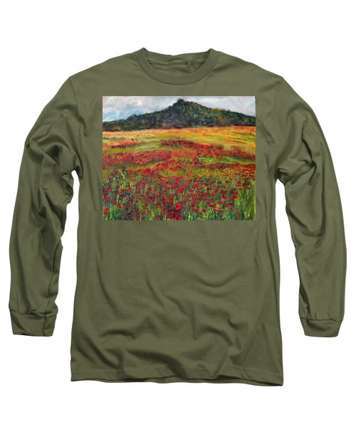 Memories Of Provence Long Sleeve T-Shirt by Michael Helfen