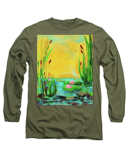 Memories Of The Lake Long Sleeve T-Shirt