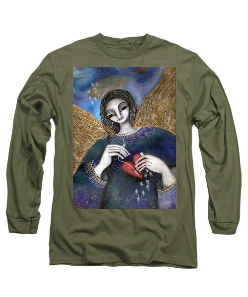 Mender Of Hearts Angel Long Sleeve T-Shirt