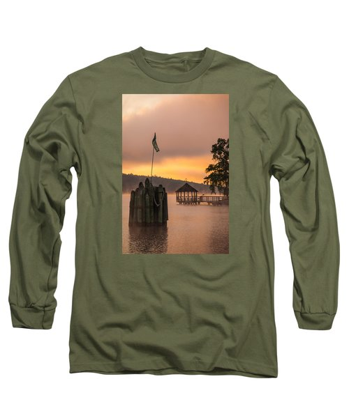 Long Sleeve T-Shirt featuring the photograph Meredith New Hampshire by Robert Clifford