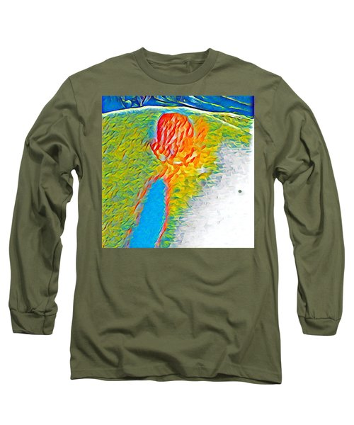 Mermaid Dives In Long Sleeve T-Shirt