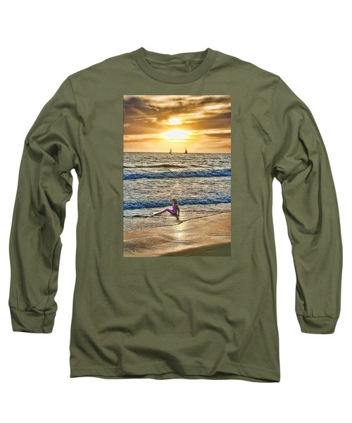 Mermaid Of Venice Long Sleeve T-Shirt