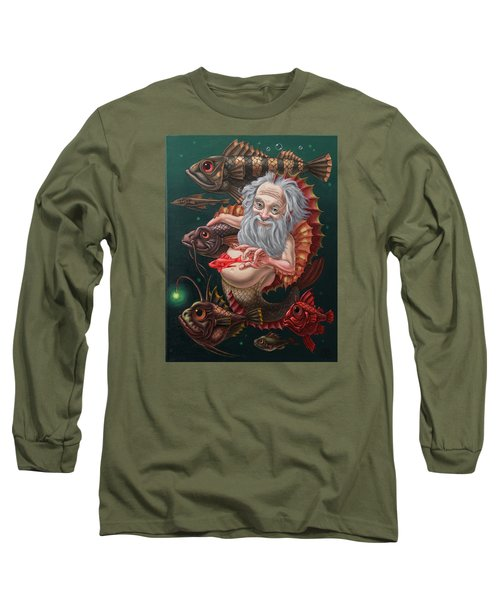 Merman Long Sleeve T-Shirt