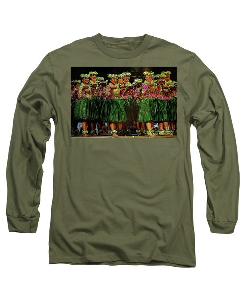 Merrie Monarch 2017 Long Sleeve T-Shirt by Craig Wood