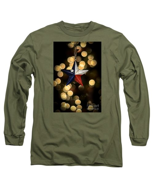 Long Sleeve T-Shirt featuring the photograph Merry Christmas Texas by Kelly Wade