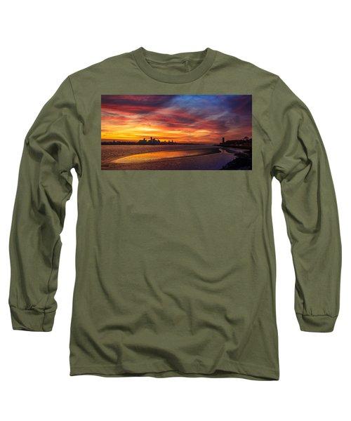 Mersey Sunrise Long Sleeve T-Shirt