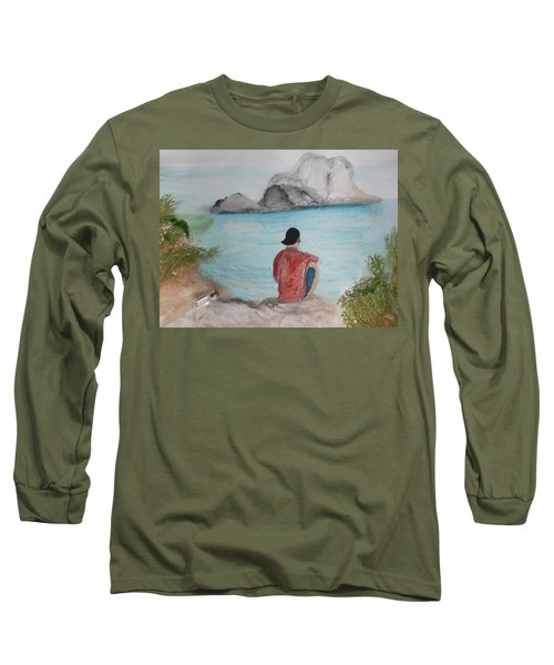 Message In A Bottle Long Sleeve T-Shirt