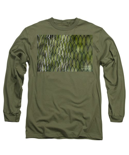 Metal Fence Long Sleeve T-Shirt