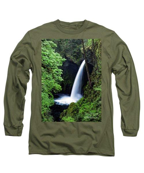 Metlako Falls Waterfall Art By Kaylyn Franks Long Sleeve T-Shirt
