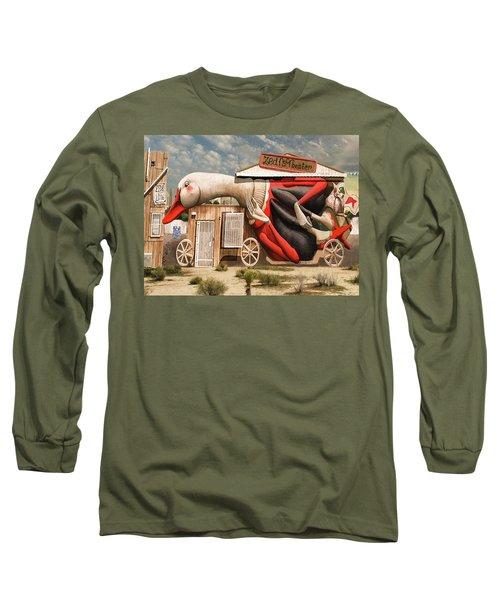 Miami Graffiti Long Sleeve T-Shirt by Jeff Burgess