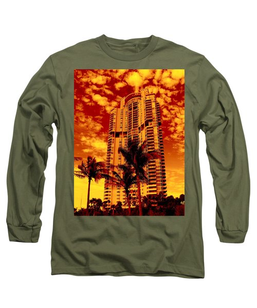 Miami South Pointe IIi Highrise Long Sleeve T-Shirt