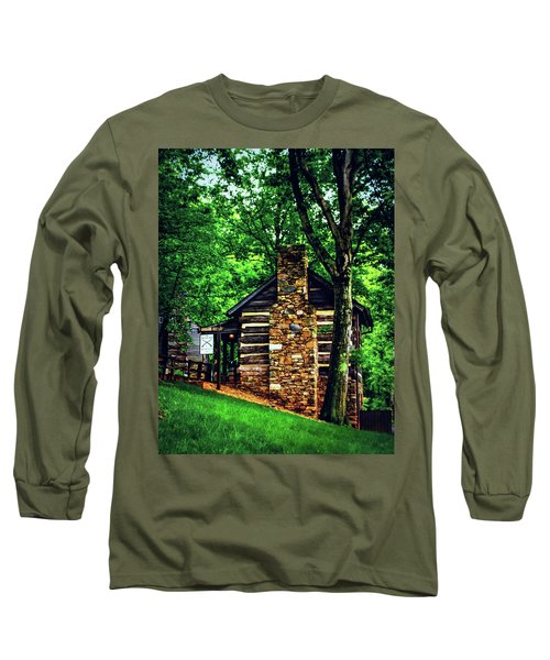 Michie Tavern No. 2 Long Sleeve T-Shirt by Laura DAddona