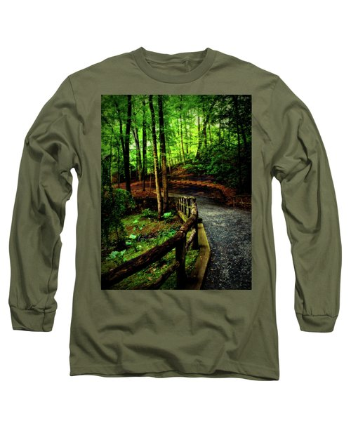 Michie Tavern No. 3 Long Sleeve T-Shirt by Laura DAddona