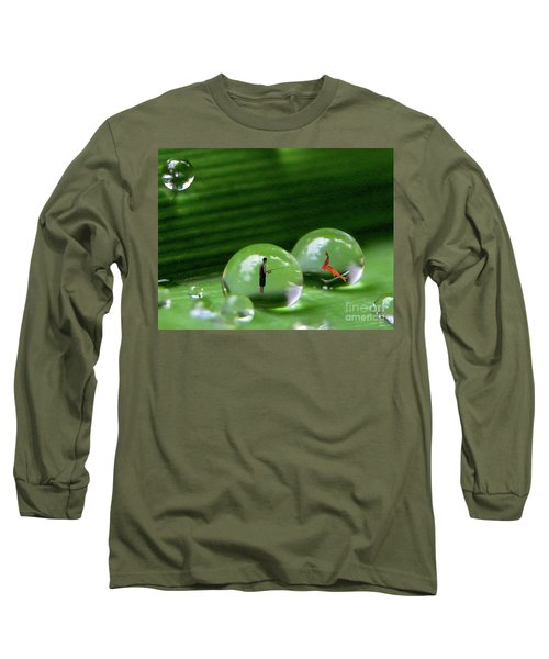 Microcosms Long Sleeve T-Shirt by Mariarosa Rockefeller