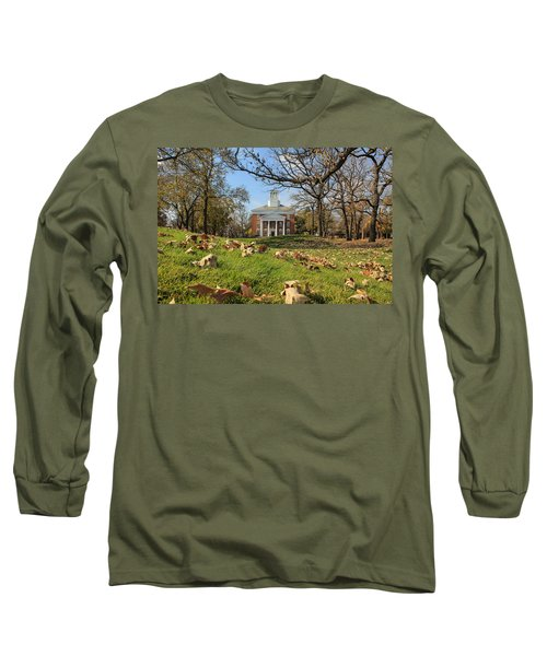 Middle College On An Autumn Day Long Sleeve T-Shirt