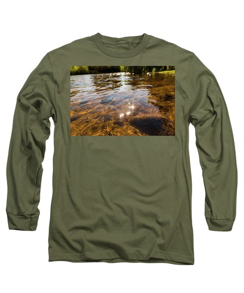Middle Of The River Long Sleeve T-Shirt