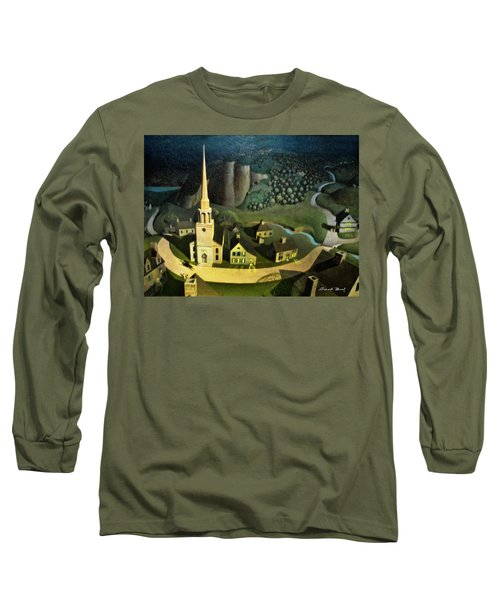 Midnight Ride Of Paul Revere Long Sleeve T-Shirt