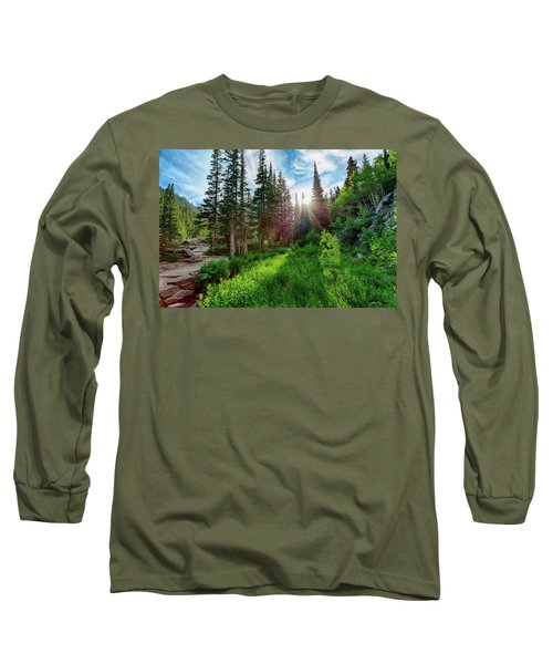 Long Sleeve T-Shirt featuring the photograph Midsummer Dream by David Chandler