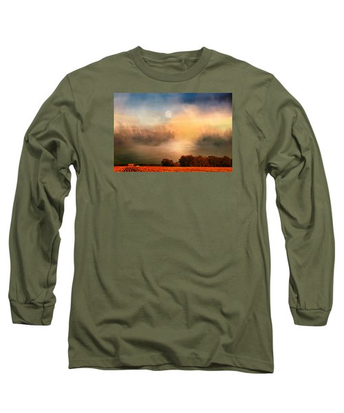 Midwest Harvest Moon Long Sleeve T-Shirt