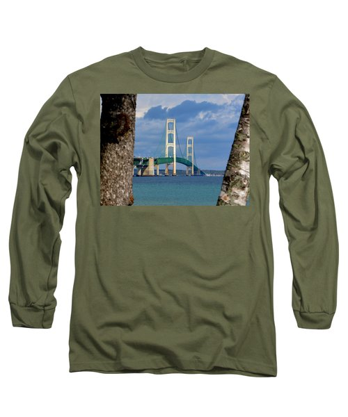 Mighty Mac Framed By Trees Long Sleeve T-Shirt