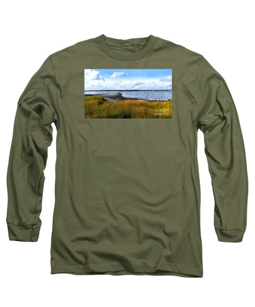 Milford Island Long Sleeve T-Shirt by Raymond Earley